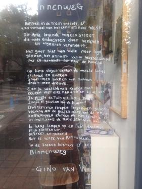 Gedicht raam